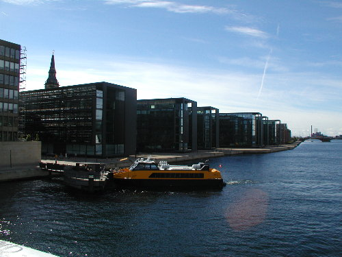 Canal en Copenhague